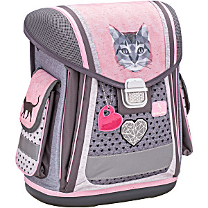 Школьный Ранец Belmil 404 5 Кошка Cute Cat набор с мешком и пеналом